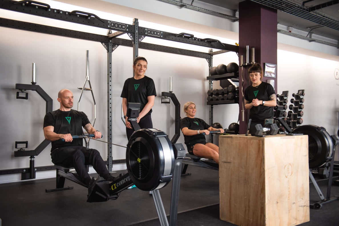 PT course rowing exercise C