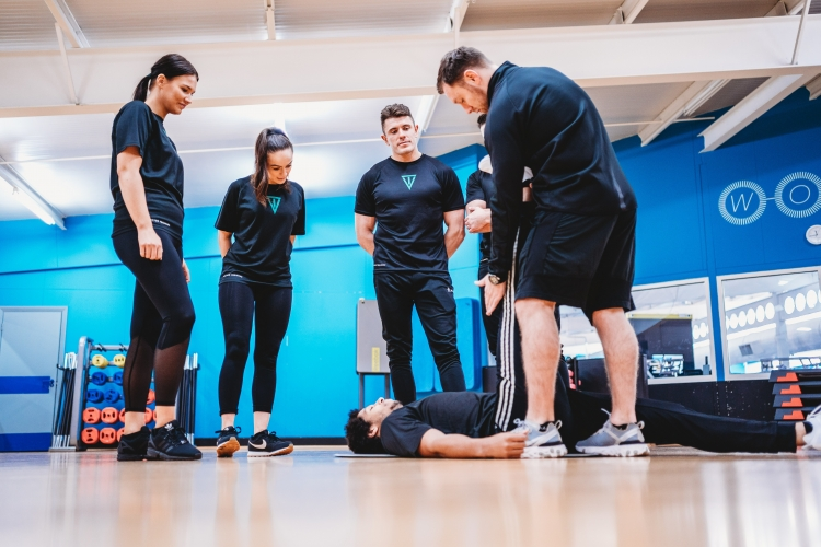 personal training course stretching techniques