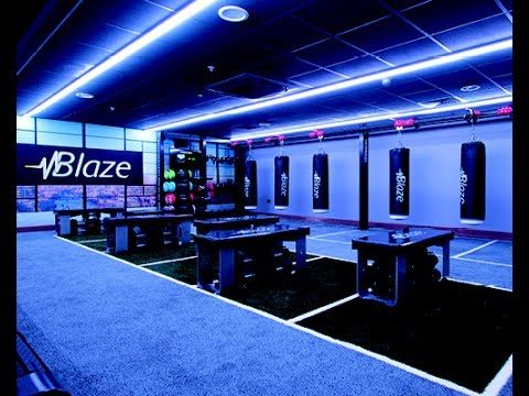 David Lloyd Blaze studio
